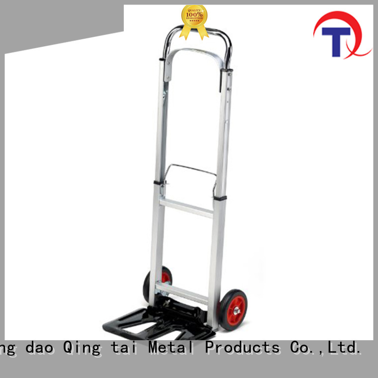 QINGTAI folding platform truck for warehouses