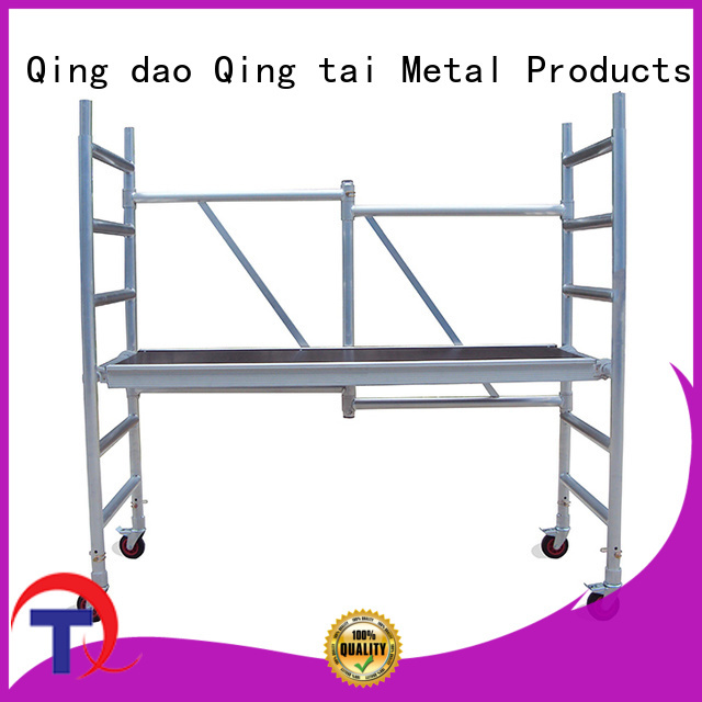 QINGTAI mobile scaffold for sale manufacturers for outdoor Spaces
