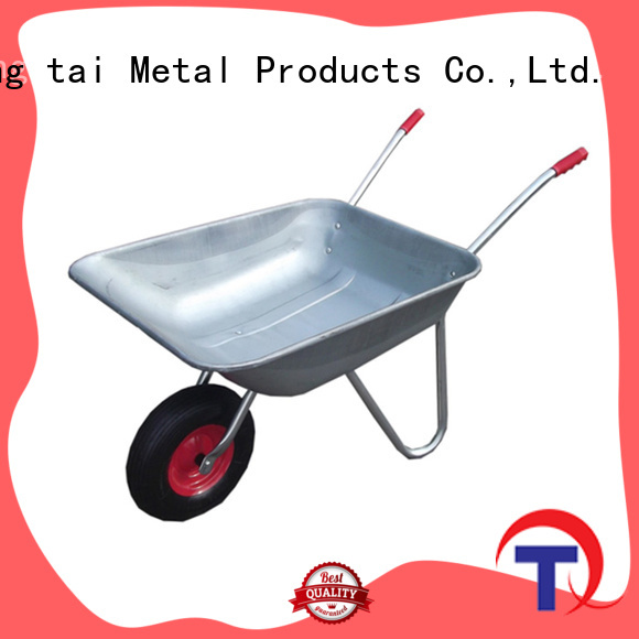 QINGTAI heavy duty wheelbarrows for sale manufacturers for carry soil