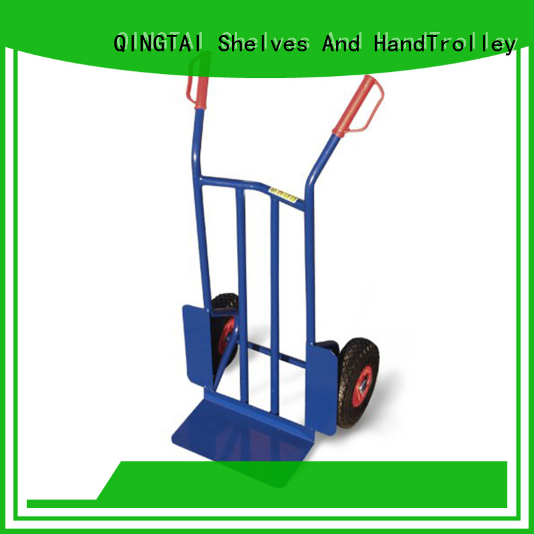 QINGTAI two wheel hand truck dolly factory for load heavy objects