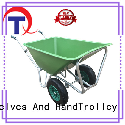 QINGTAI Strong structure heavy duty wheelbarrow customized for yard