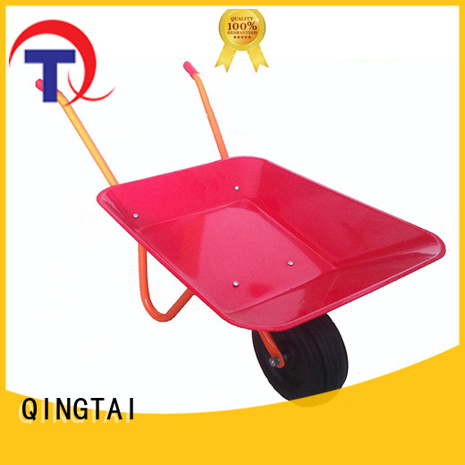QINGTAI steel wheelbarrows for sale China for architectural