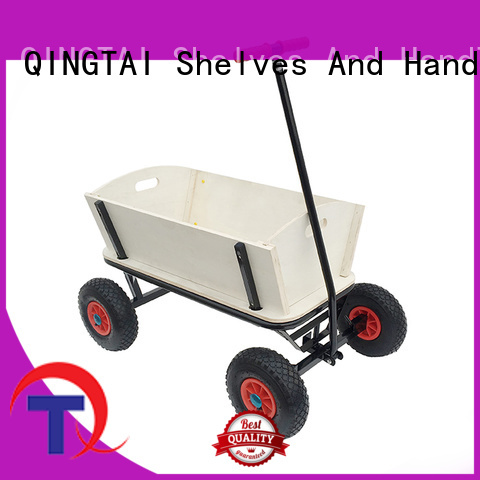QINGTAI garden trolley cart manufacturer for yard