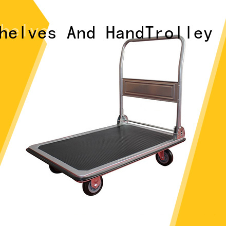 Top quality folding handle platform truck from China for family