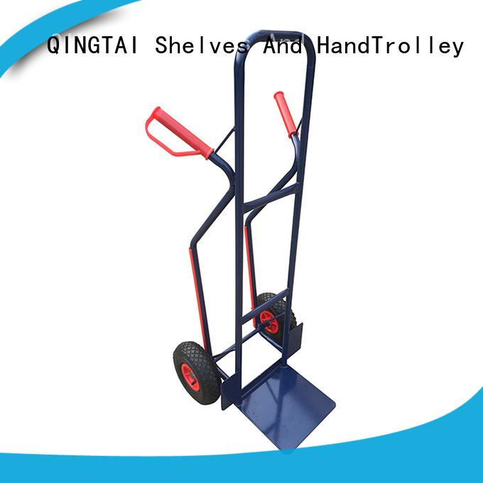 QINGTAI plastic hand cart wholesale for warehouses