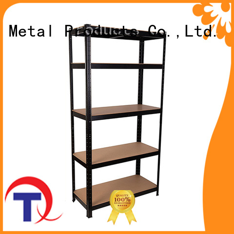 QINGTAI Sturdy shelf rack customized for home