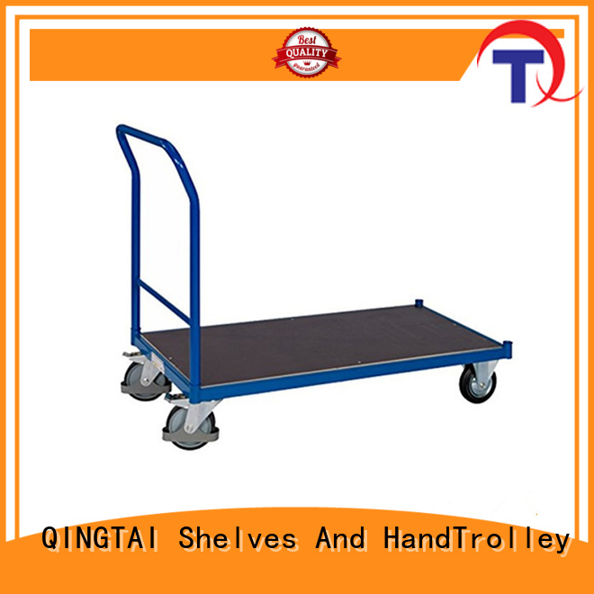 QINGTAI New folding platform trolley Factory price for carrying heavy loads