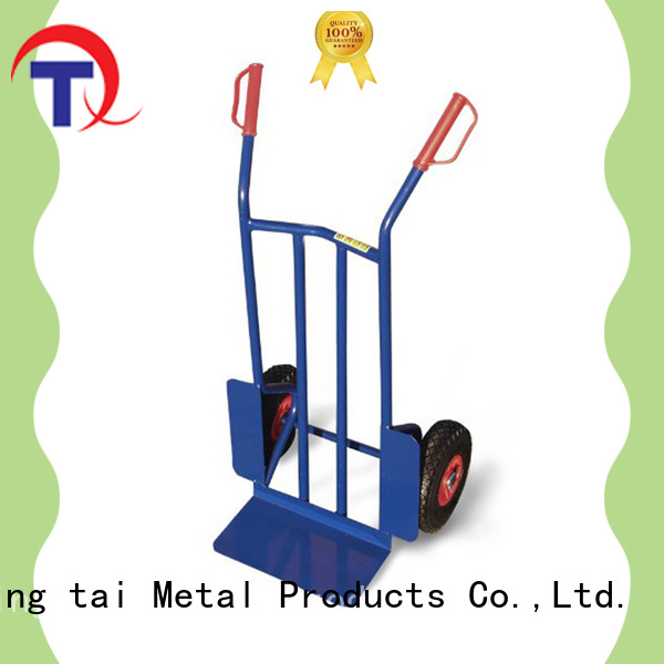 practical collapsible hand truck customized for gardens