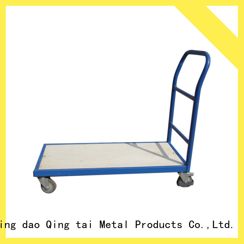 folding hand trucks and trolleys China manufacturer for unload heavy objects
