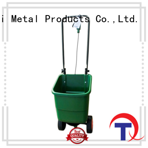 strong metal fertilizer spreader company for outdoor Spaces