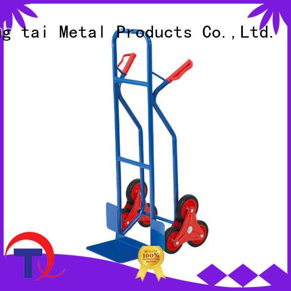 QINGTAI high quality collapsible hand truck company for unload heavy objects