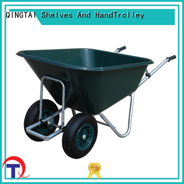 QINGTAI High-quality the real wheelbarrow factory for carry soil