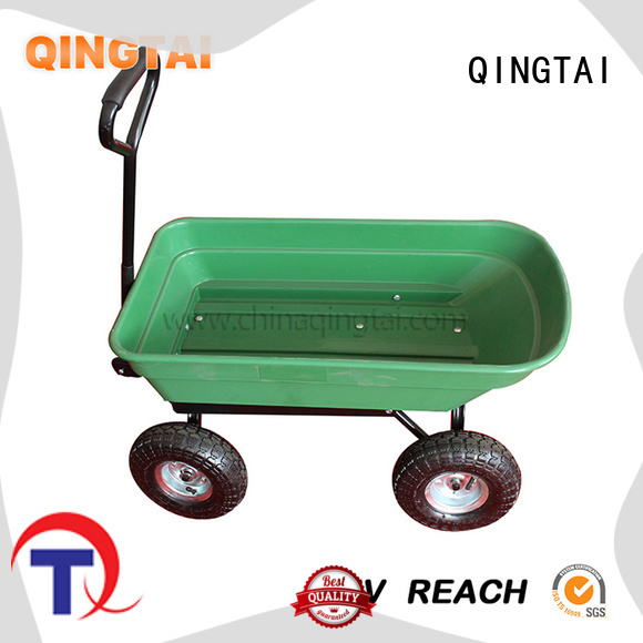 QINGTAI buy garden wagon supplier for outdoor Spaces