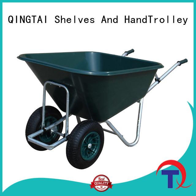 QINGTAI custom wheelbarrow factory for carry soil