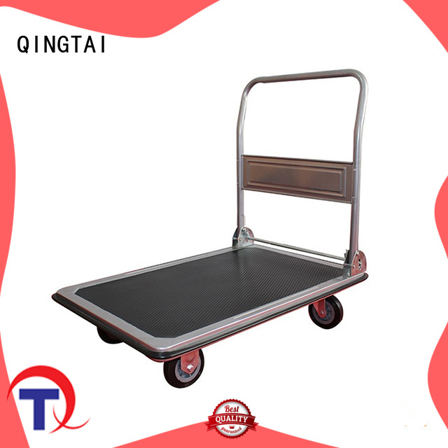 QINGTAI professional platform cart company for carrying heavy loads