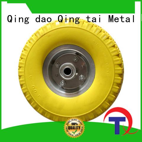 QINGTAI wheelbarrow wheel in China for wheelbarrow