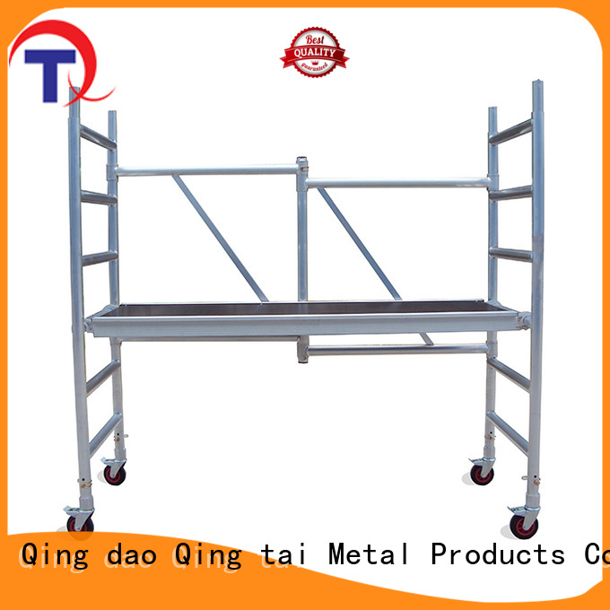 Easy Assembly aluminum scaffolding manufacturer for industry