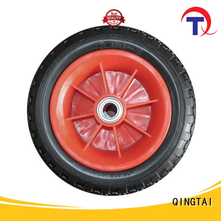 QINGTAI professional wheelbarrow wheels customized for hand truck