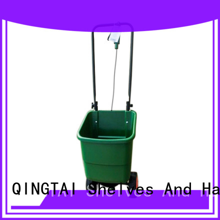 QINGTAI widely use in bed salt spreader manufacturer for garden
