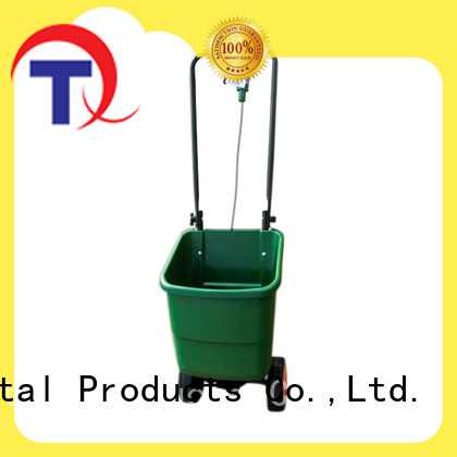 QINGTAI easy to assemble broadcast spreader supplier for lawn