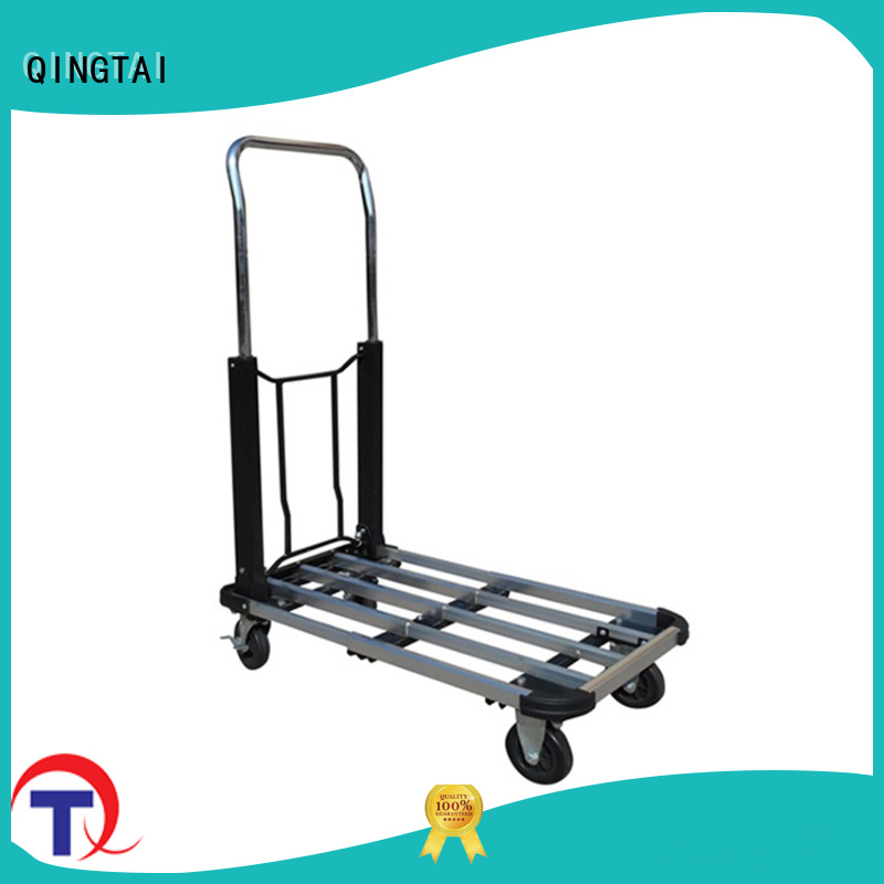 QINGTAI high-quality materials platform hand truck in China for heavy transport