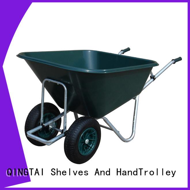 QINGTAI best wheelbarrow factory for yard