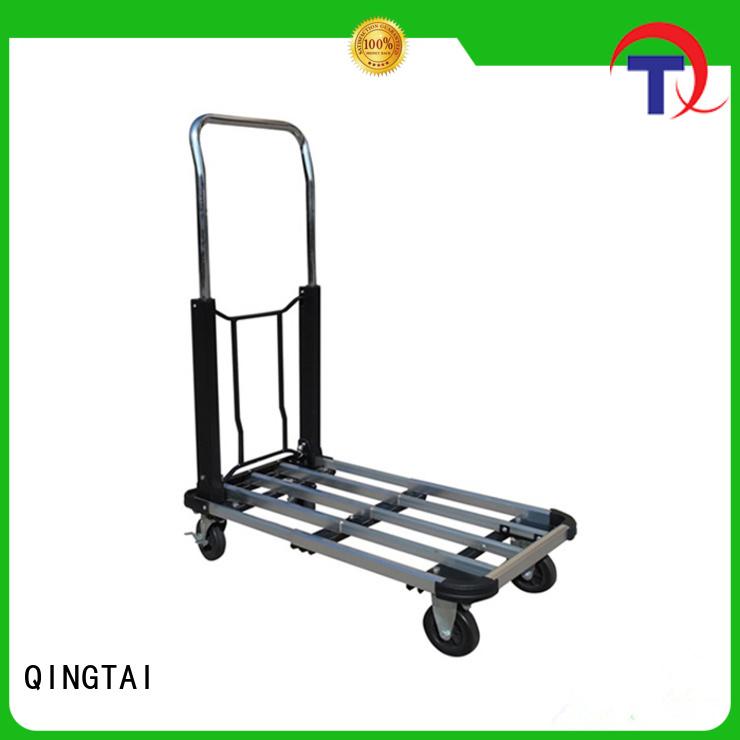 QINGTAI work easy aluminum 2 wheel hand truck company for carrying heavy loads