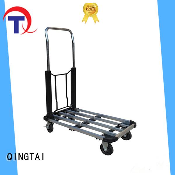 QINGTAI platform trolley China manufacturer for gardens