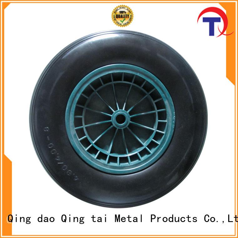 QINGTAI stable pneumatic tires supplier for wheelbarrow