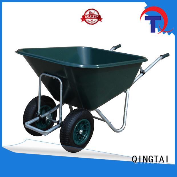 QINGTAI favorable price wheelbarrow price factory for garden