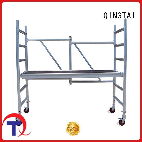 QINGTAI mobile scaffold manufacturer for outdoor