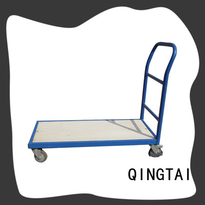 QINGTAI flatbed platform truck customized for heavy transport