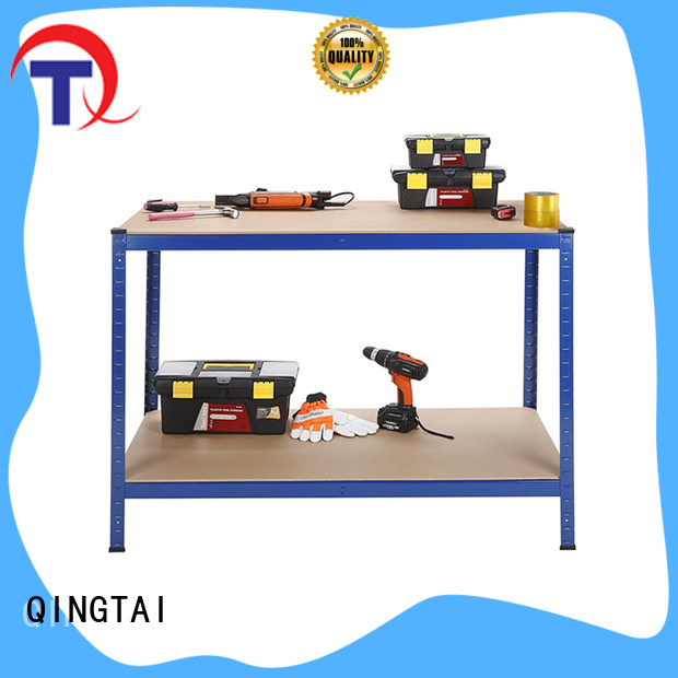 QINGTAI Easy Assembly adjustable storage shelves supplier for factory