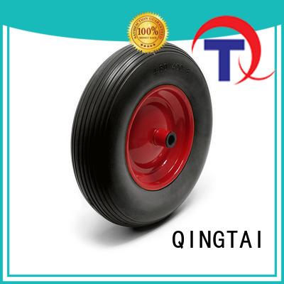 QINGTAI trolley wheels factory for trolley