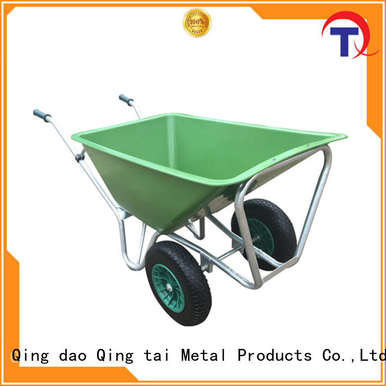 QINGTAI work easy chinese wheelbarrow company for outdoor Spaces