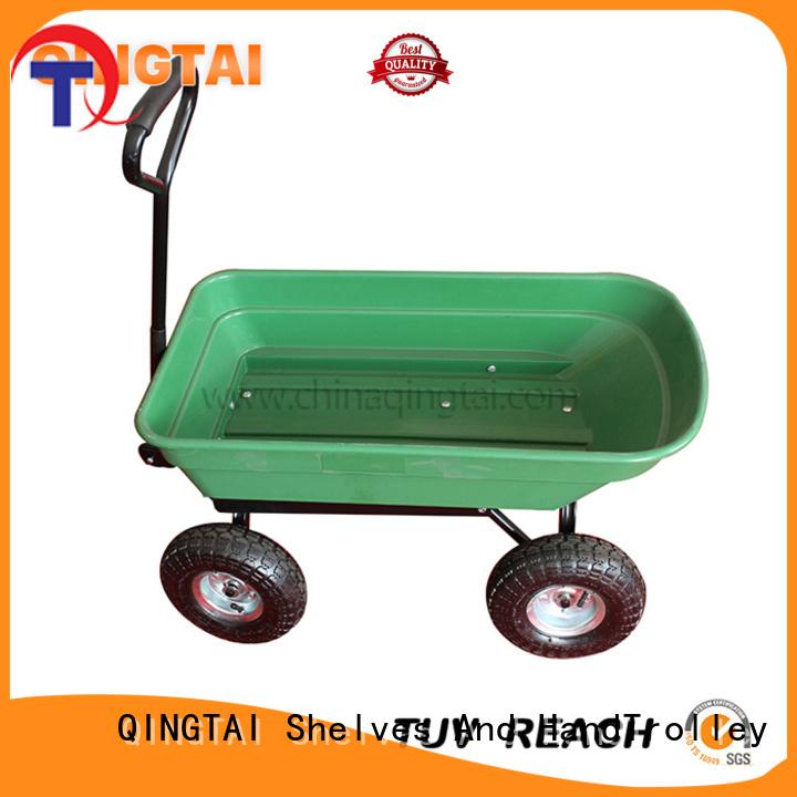 QINGTAI beach utility cart from China for gardens