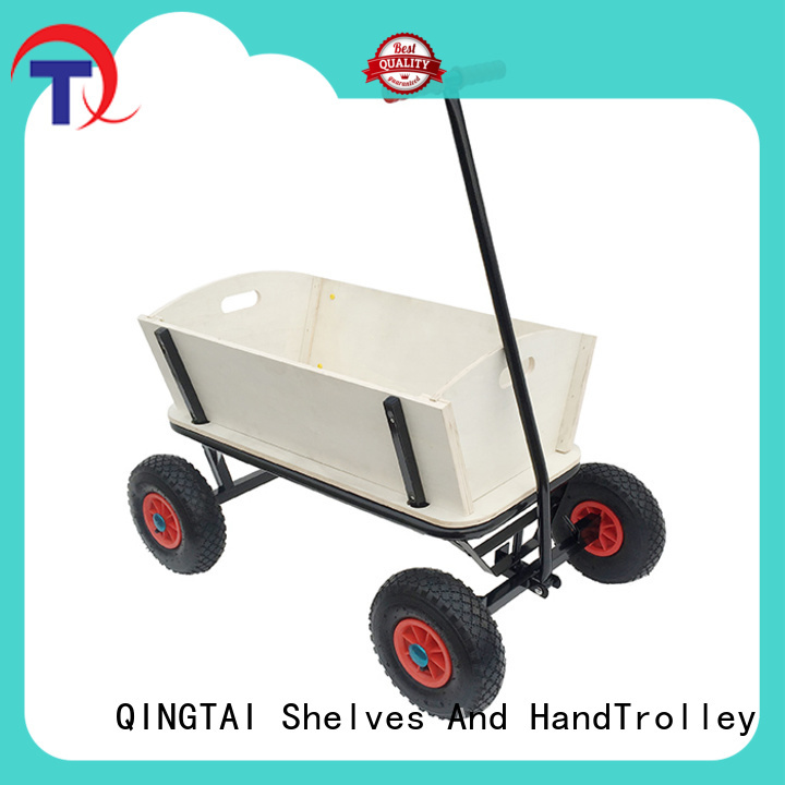 QINGTAI folding garden cart supplier for kids or adults
