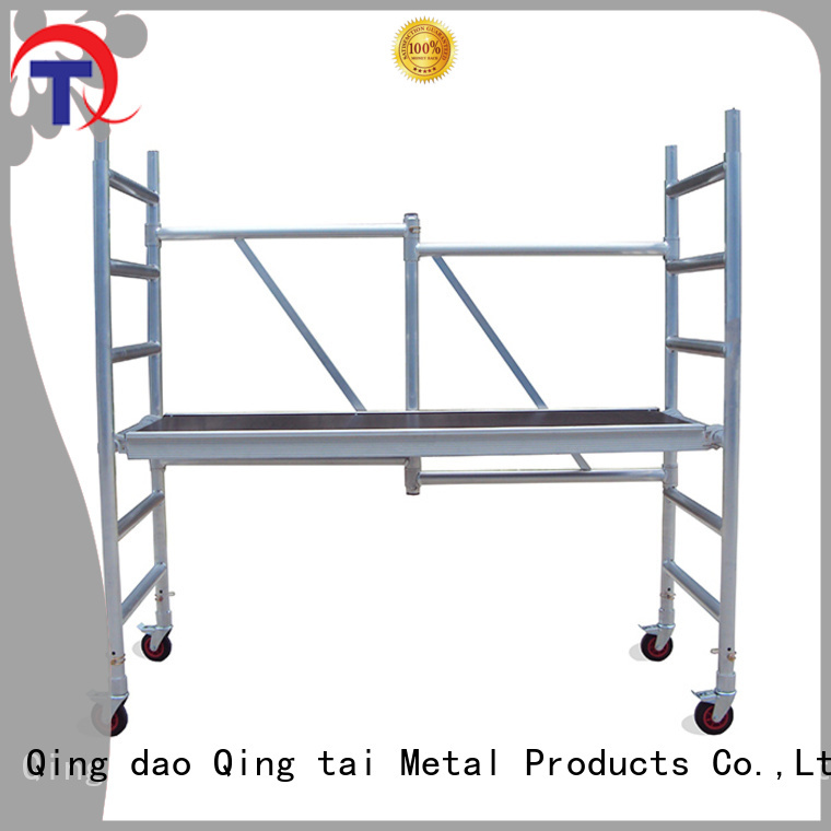 high quality aluminum materials 8 ft scaffolding for sale for business for construction
