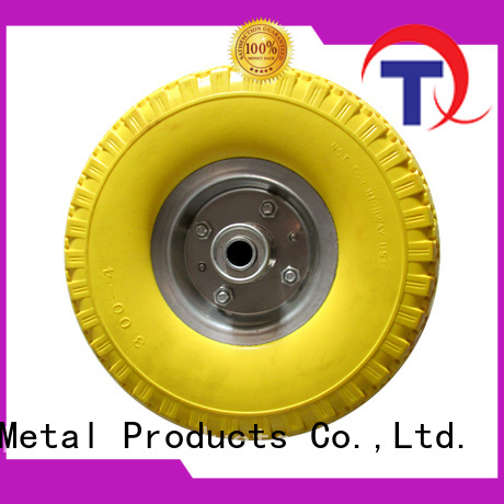 high quality materials hand truck wheels and tires wholesale for hand trolley