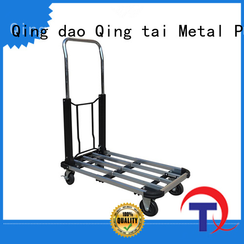 QINGTAI Latest fold up dolly hand truck wholesale for homes