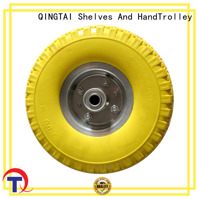 high quality wheelbarrow wheels company for trolley