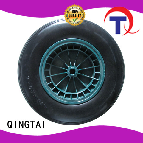 Top quality wheelbarrow wheels China for trolley