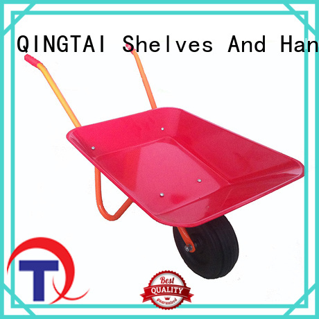 QINGTAI heavy duty wheelbarrow in China for garden