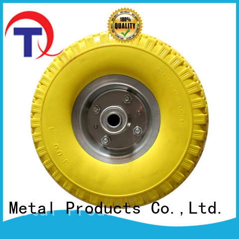 QINGTAI hand truck wheels from China for wheelbarrow
