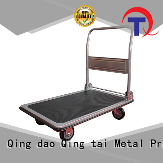 QINGTAI Strong structure folding hand cart China manufacturer for business