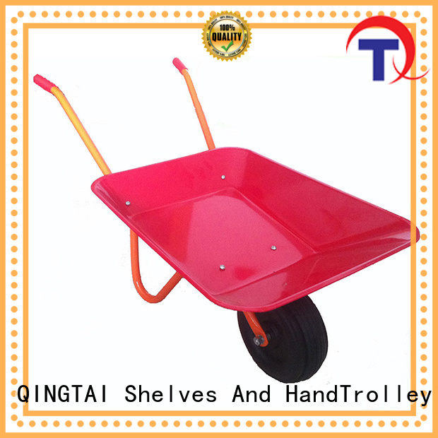 QINGTAI easily use wheelbarrow price China for gardens