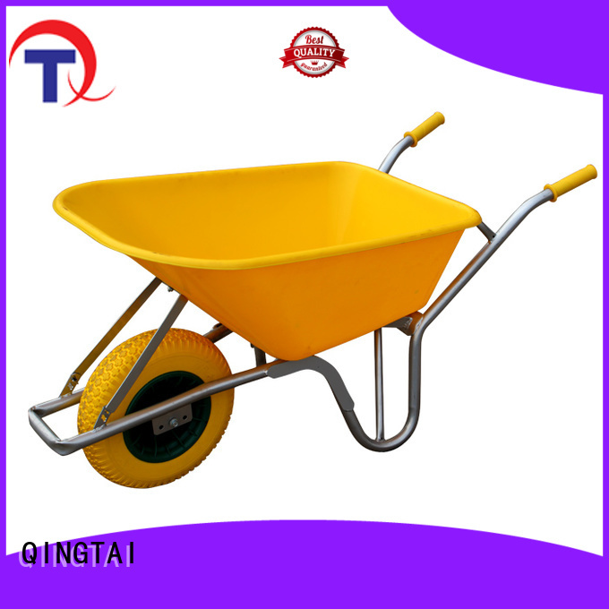 Strong structure wheelbarrow for sale customized for gardens
