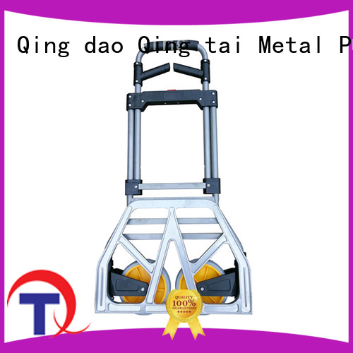 QINGTAI folding platform truck customized for offices