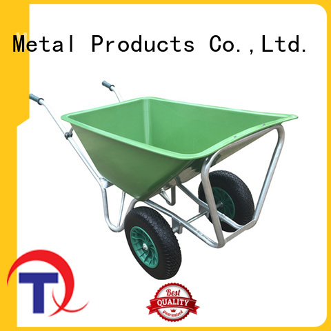 QINGTAI comfortable handle wheelbarrow for sale China manufacturer for industrial
