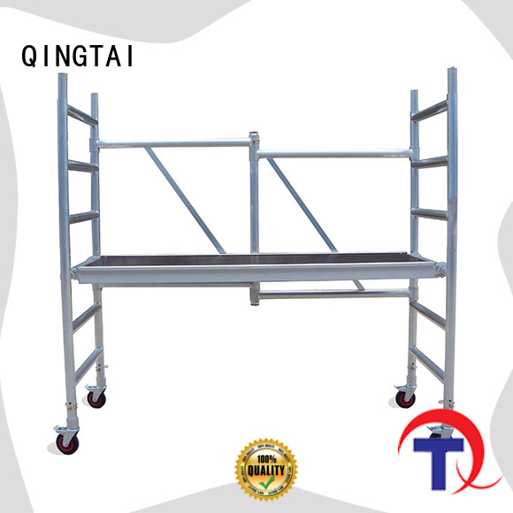 QINGTAI high quality aluminum materials scaffolder customized for industry